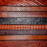 Textured Leather Belts