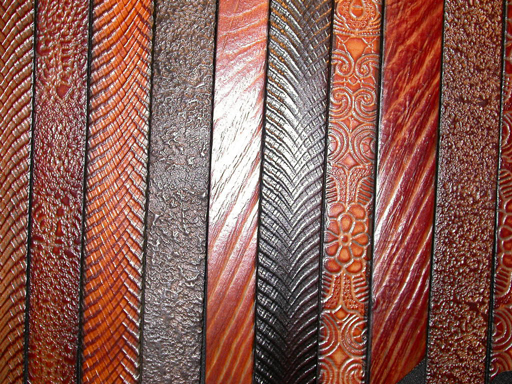 Leather Belt Textures
